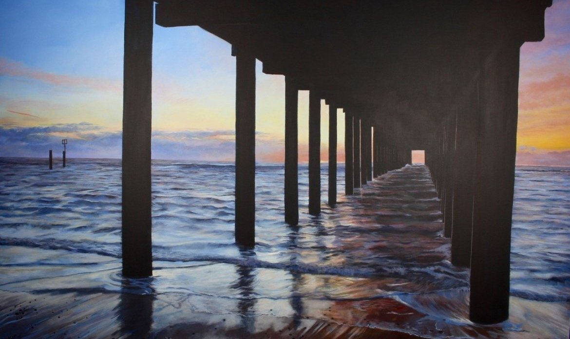 The Under The Pier Show Box Canvas60x48 4200