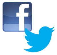 Why not follow us on Facebook and Twitter?
